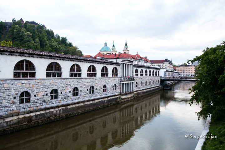 Plecnik's embankment