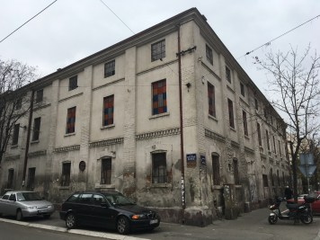 An old factory in Lower Dorćol