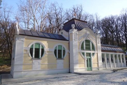 Pavillion in Bukovicka Banja, Tanazevic