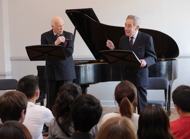 04-Seminar-with-Melvin-Stecher-and-Norman-Horowitz,-Founding-Directors