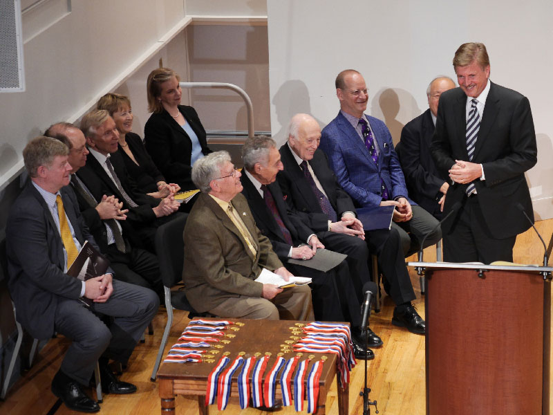 06-William-S-Hearst,-Chairman-of-the-Board,-Welcomes-Guests