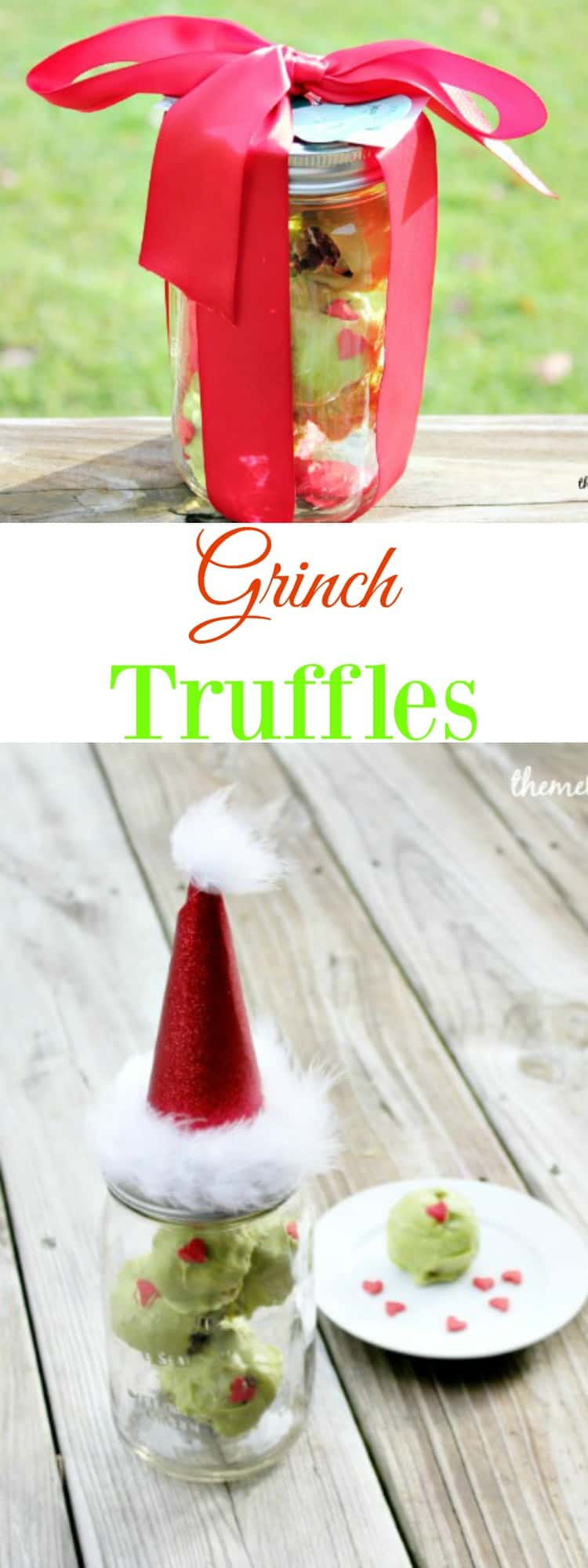 Grinch Truffles are the perfect holiday gift idea.