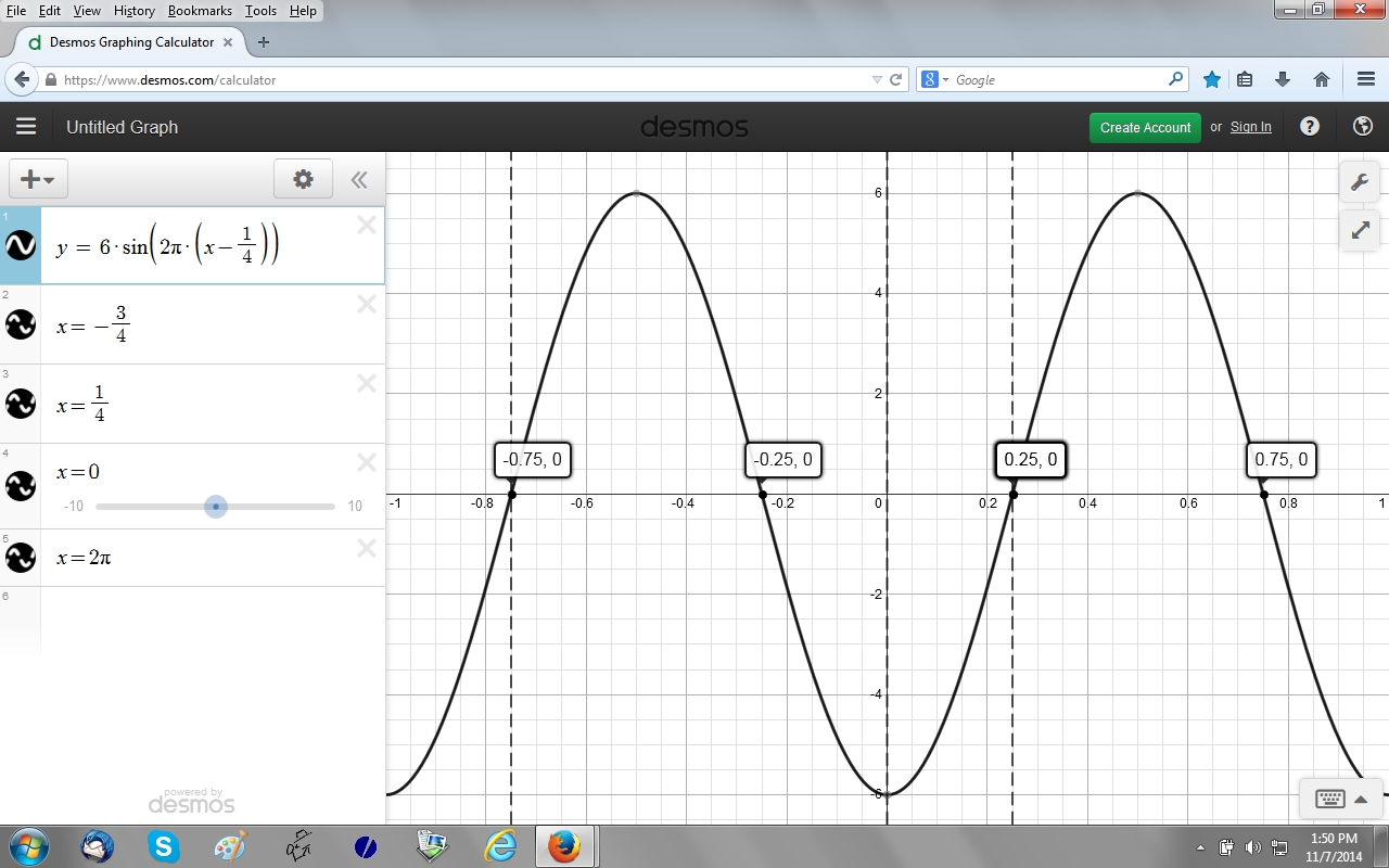 How To Write The Equation Of A Sine Graph