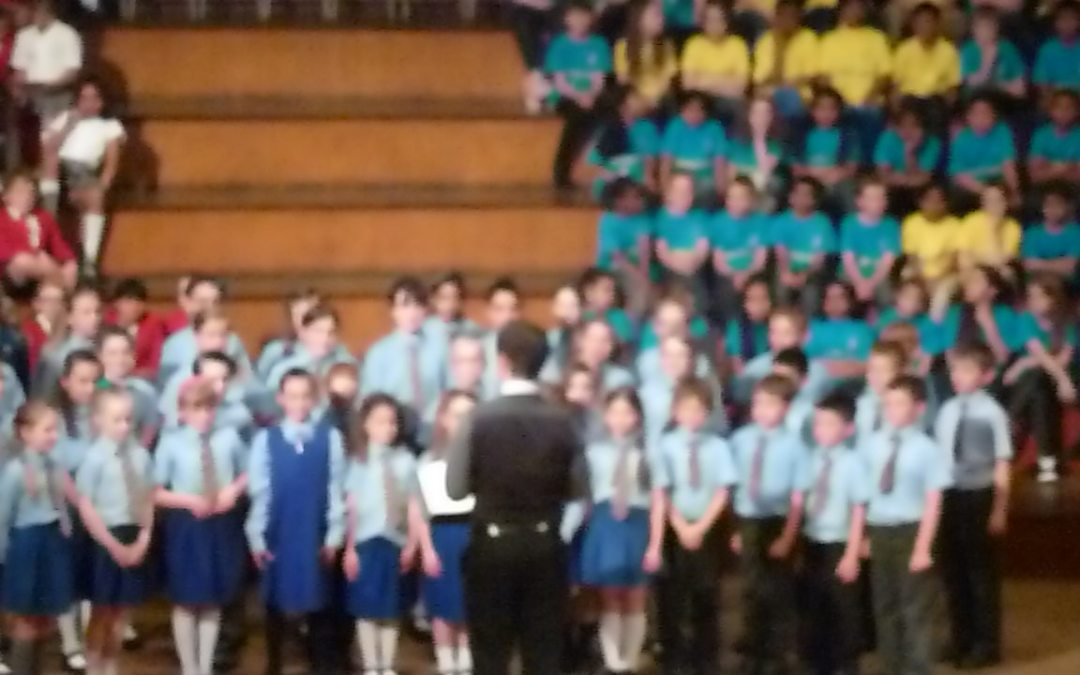 School choir sing their hearts out! – Music Festival 2013