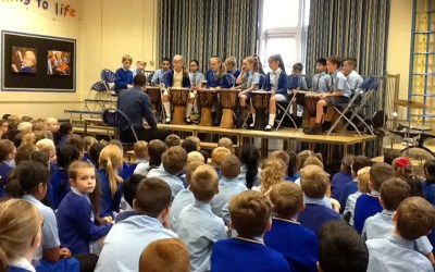 Drumming Assembly – Year 5
