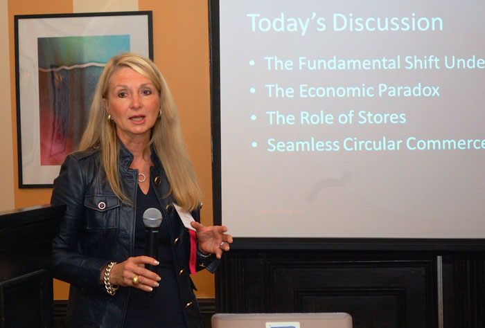 Andrea Weiss retail marketing society speaking