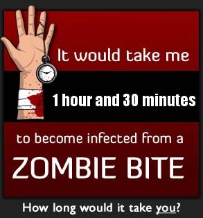 The Zombie Bite Calculator