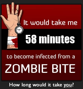 The Zombie Bite Calculator