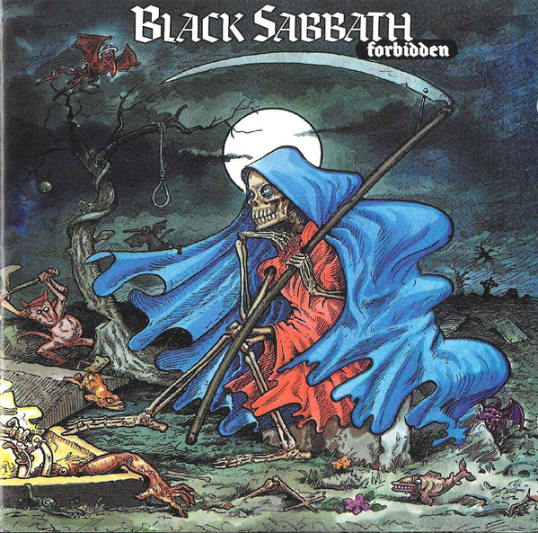 Image result for black sabbath forbidden