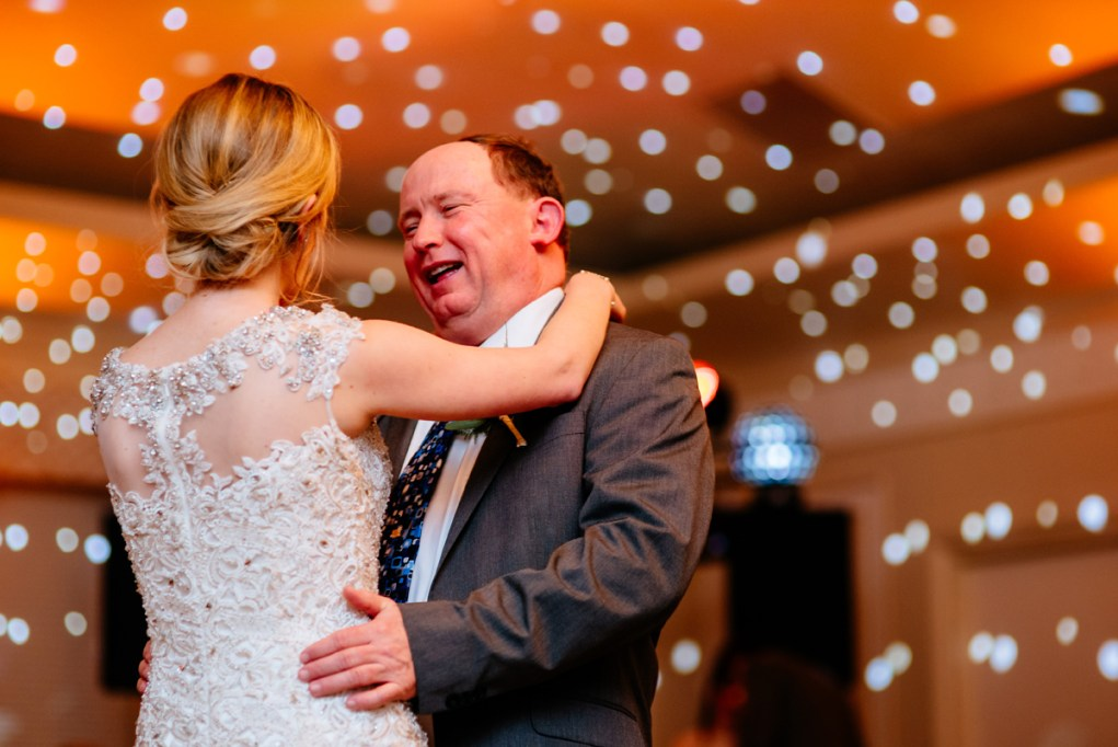 father daughter dance huntington wv winter wedding