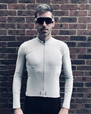 Pro Team winter Rapha jersey front