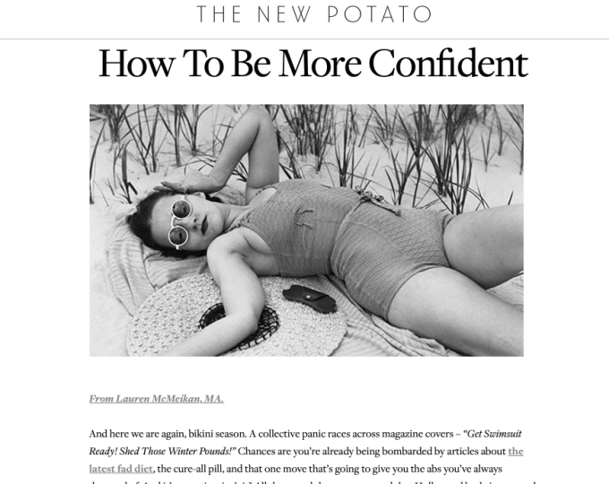 Lauren McMeikan Rosen, LMFT, writes about how to overcome Body Image Struggles.