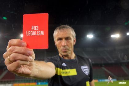 #93 Legalism