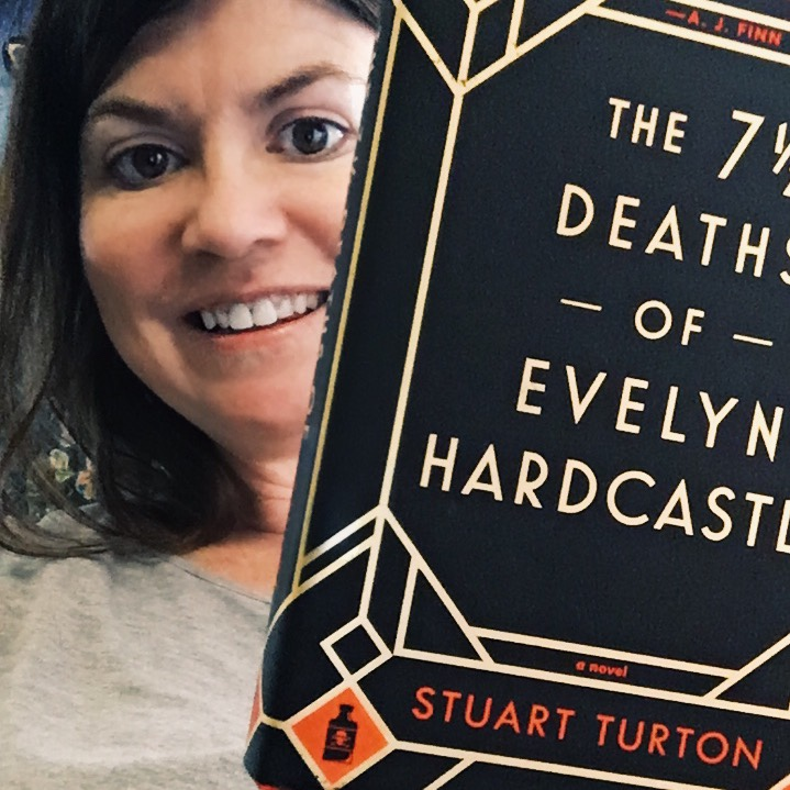 First Book of the Year | The 7.5 Deaths of Evelyn Hardcastle by Stuart Turton #firstbookoftheyear