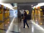 at the Hong Kong International Airport