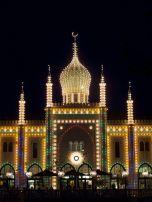 Nimb restaurant at Tivoli Gardens {not the Taj Mahal}