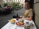Eric enjoys the second, fancier apperitivi