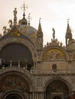 Arches, Crosses and Saints, St. Marks Basilica, Venice