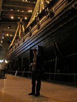 For a little scale-Eric next to the Vasa