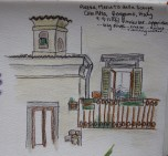 My sketch over apperitivi!