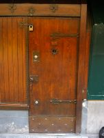 I loved the old medieval doors and shutters on the bridge, look at that peep hole!