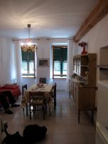 Living Room/Dining Room, view standing in the kitchen