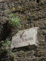 Via dell'Amore, between Riomaggiore and Manarola