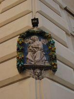Lemony Virgin Mary Alter, Rome