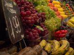 Glamour shots of fruit at La Boqueria