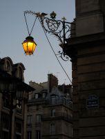 Amazing light post in Place des Vosges