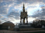 The Albert Memorial is just by the famous Royal Albert Hall where the Beatles and the Who played.