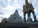 Statue representing Asia at one corner of the Prince Albert Memorial