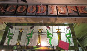 Stained Glass at Good Junk Garage