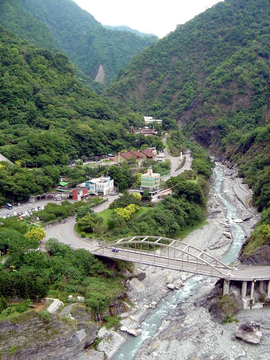 Hualien Taroko Tianxiang Pagoda View