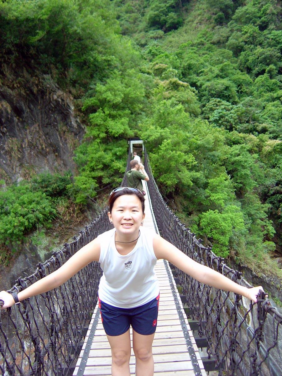 Hualien Taroko Yuefei Bridge