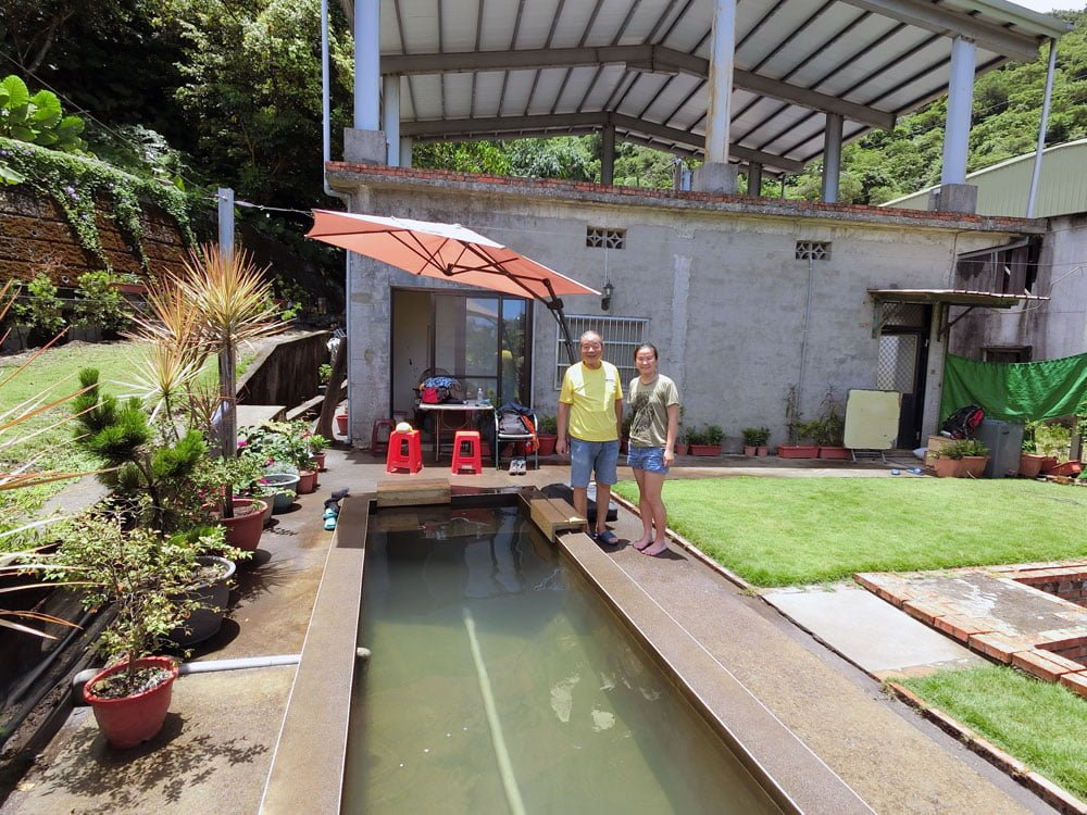 Yilan Suao Private Pool Me and Owner