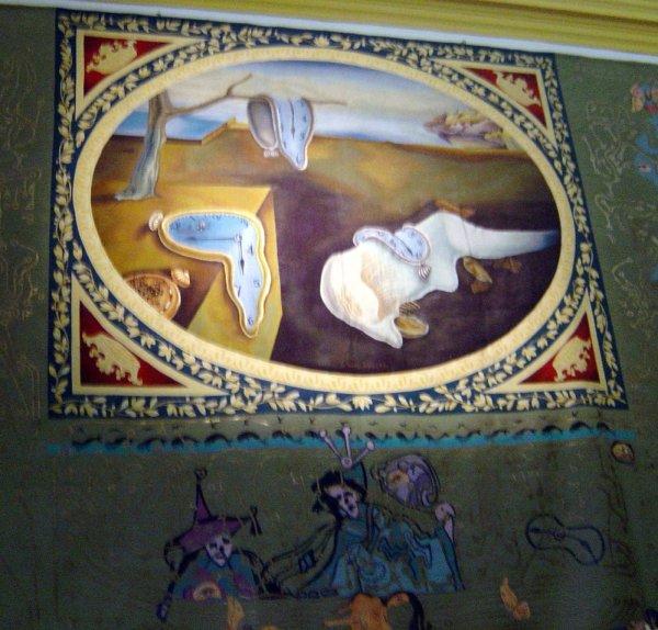 Figueres Dali Museum Melting Clocks