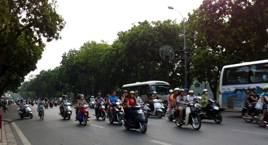 Vietnam Hanoi Road