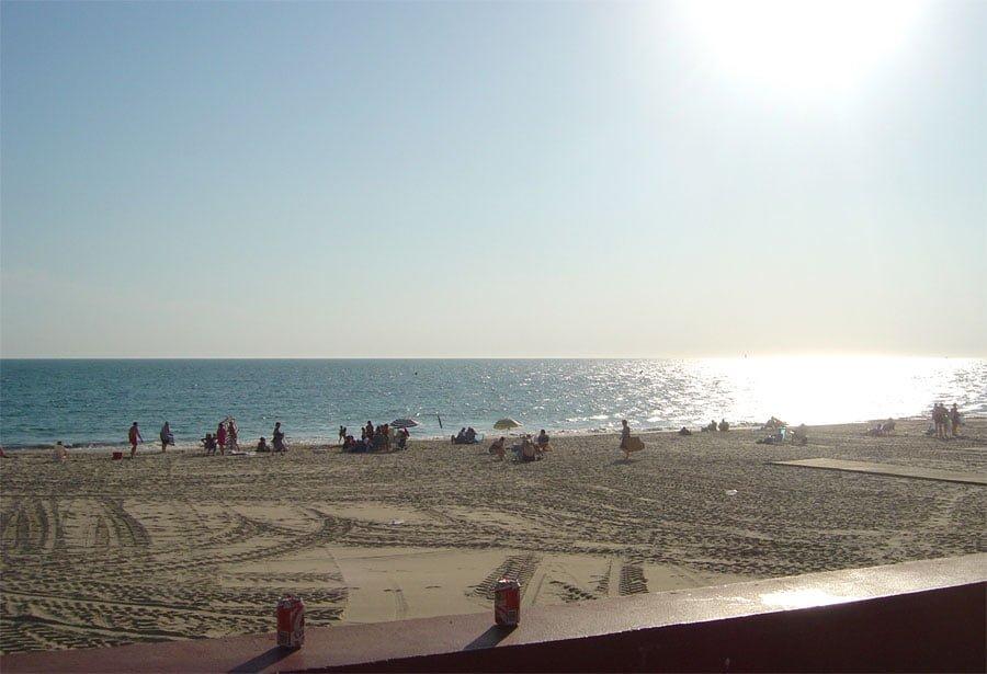 Spain Chipiona Beach Sea