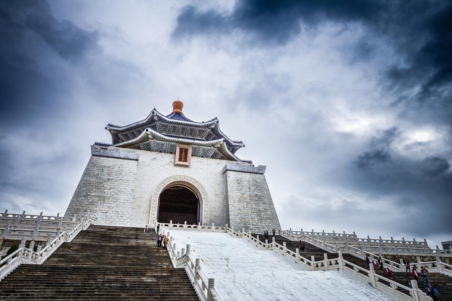 Taipei Chiang Kai Shek Memorial hall by See-Ming Lee
