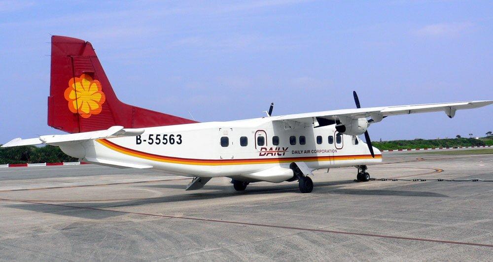Taitung-Lyudao Daily Air plane