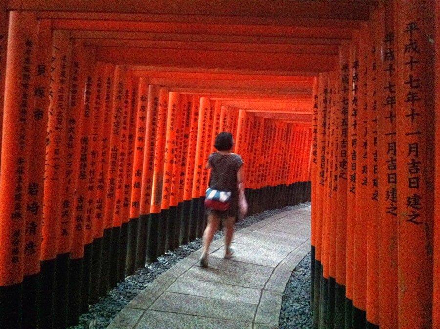 Japan Fushimi Inari Torii Me
