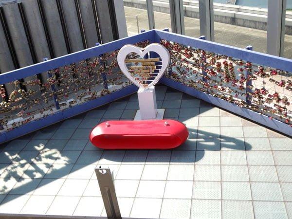 Osaka - Umeda Sky Building Love Locks