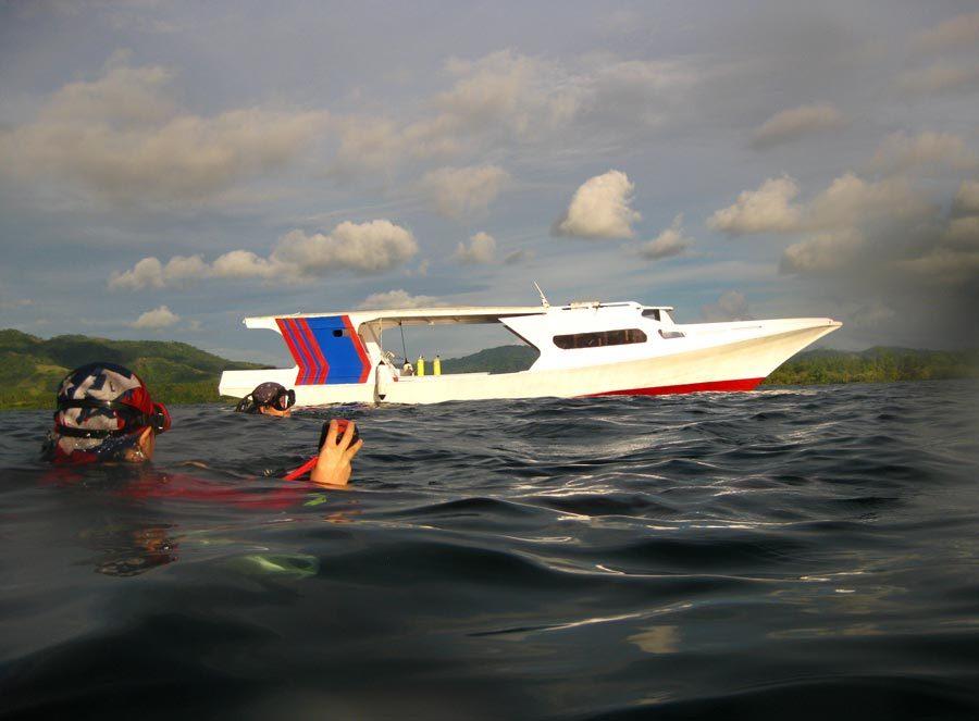 Manado Odyssea Diving Boat
