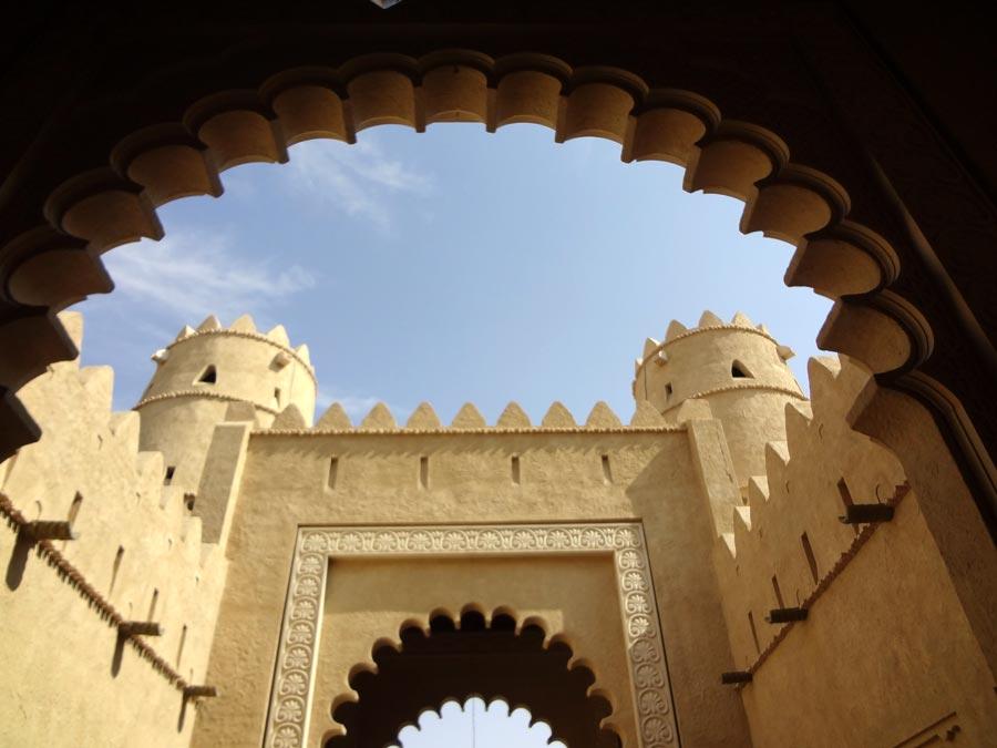 Qasr Al Sarab Entrance Arch