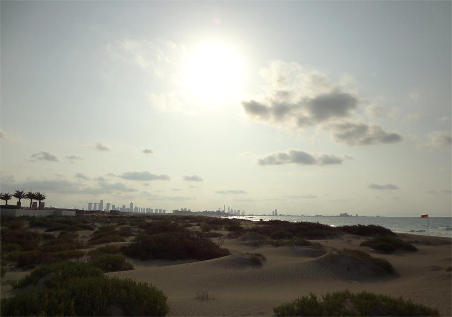 Abu Dhabi Saadiyat Beach Club Dune Skyline