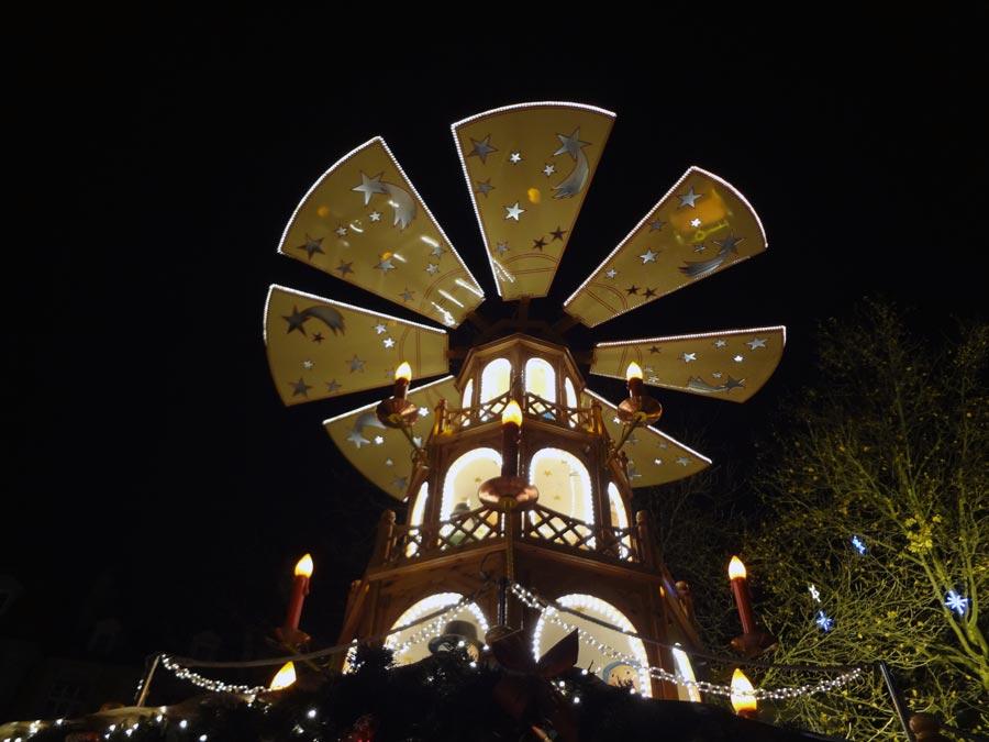 Munich Marienplatz Christmas Market Windmill