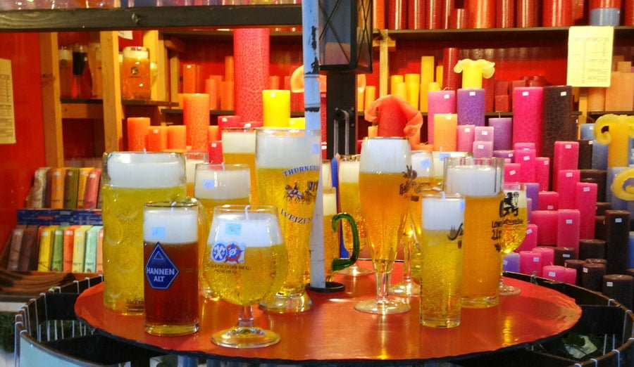 Munich Tollwood Candle Beer