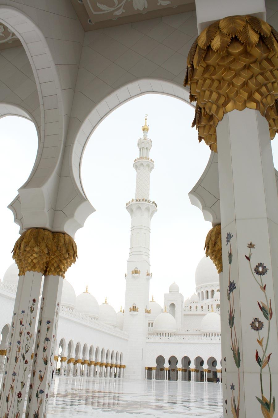 Abu Dhabi Sheikh Zayed Palm Minaret