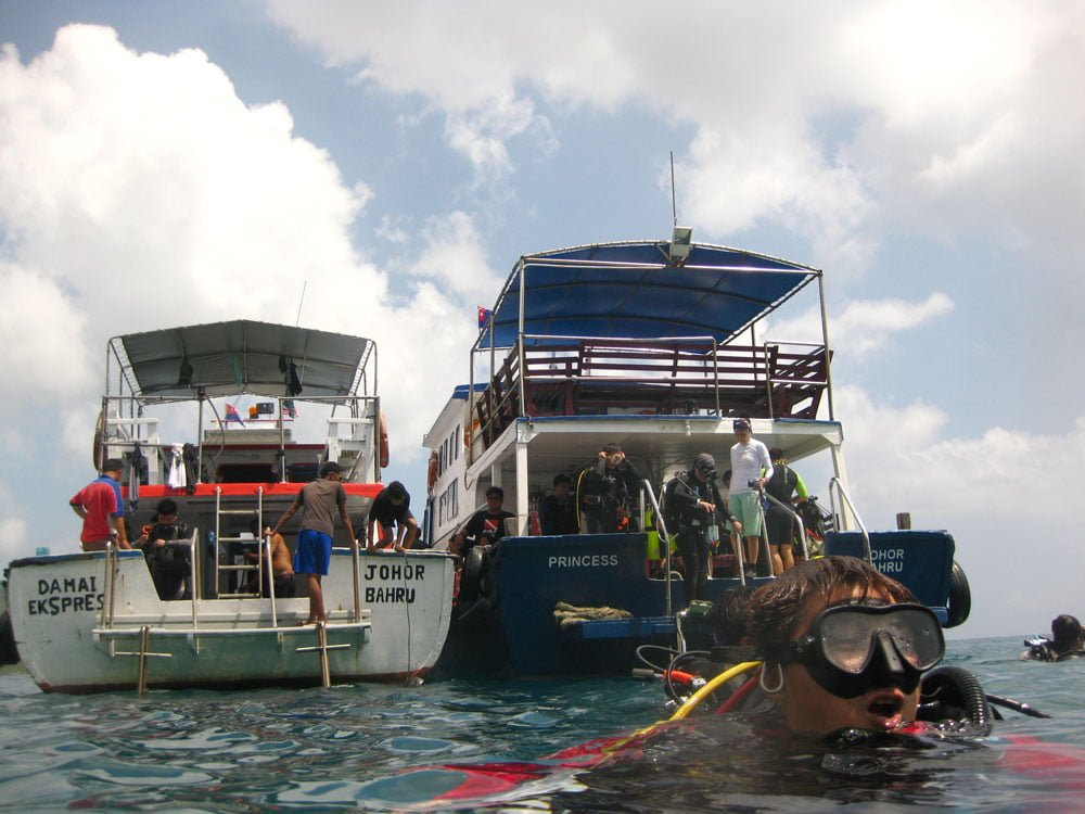 Dayang Diving Boat Princess